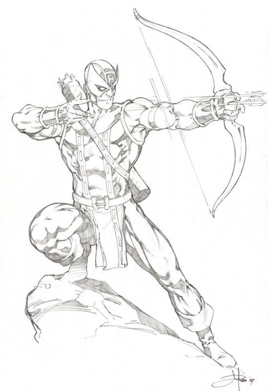 Hawkeye hawkeye fan art hawkeye marvel drawings comic drawing marvel comics - Comics dessin ...