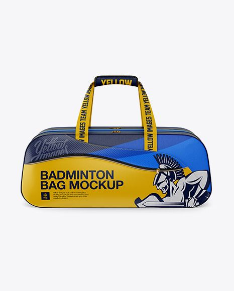 Download Badminton Bag Mockup Side View In Apparel Mockups On Yellow Images Object Mockups Badminton Bag Bag Mockup Design Mockup Free