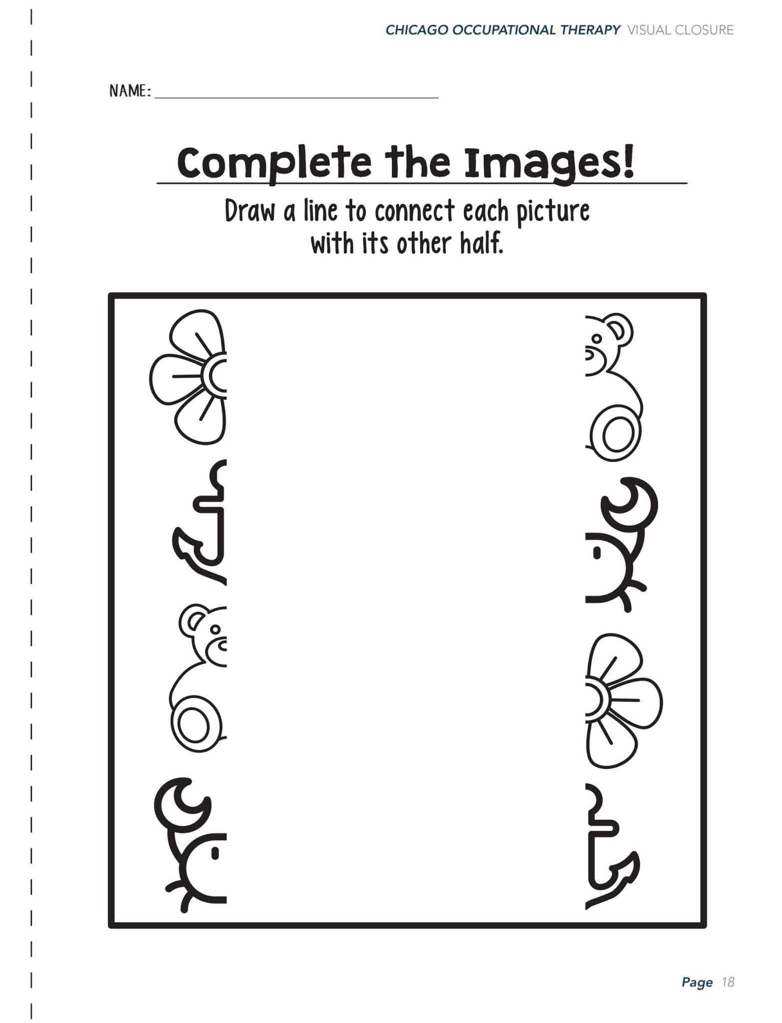 Visual Perceptual Activity Worksheets In