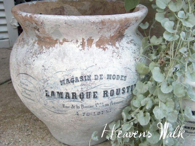 Heaven's Walk: French Flower Pots