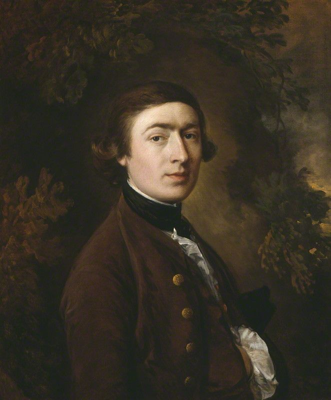 Thomas Gainsborough  by Thomas Gainsborough, circa 1758-1759