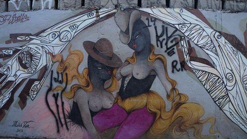 STREET ART: BRASIL — Blá