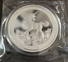 PU 2019 1 oz China Silver Unicorn 25th Anniversary Restrike