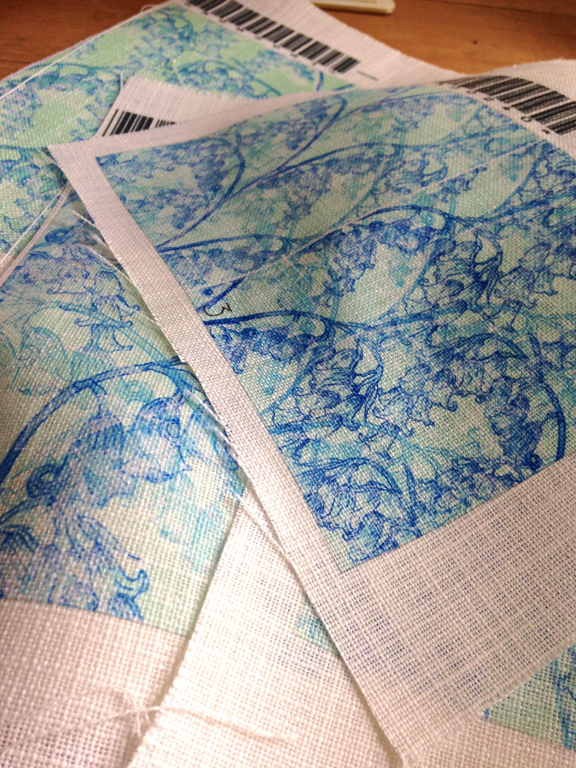 More beautiful samples printed by @bagsofloveuk