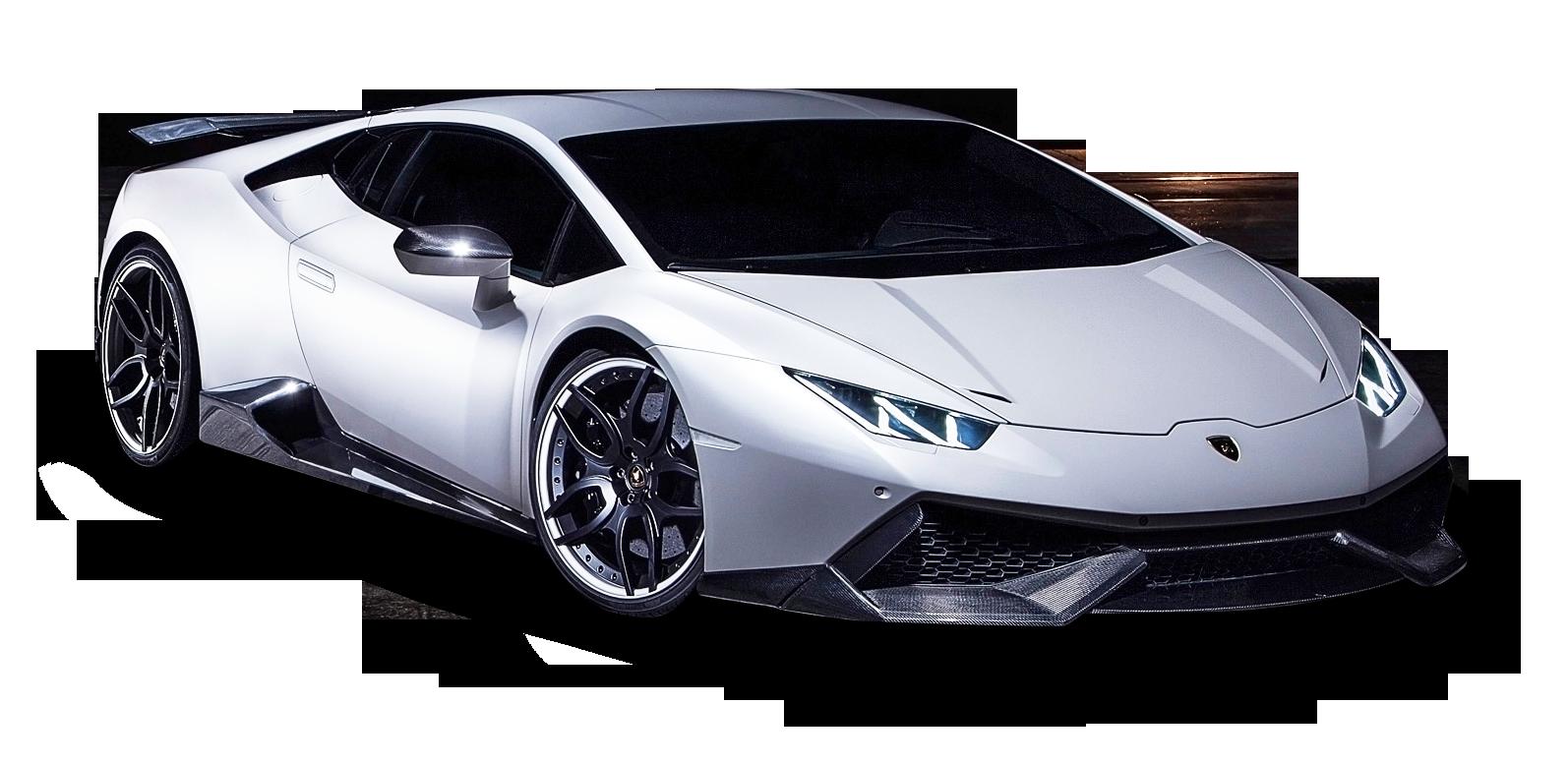 White Lamborghini Huracan Car Png Image White Lamborghini Lamborghini Car
