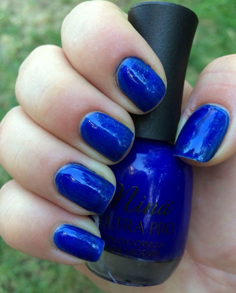 37. Nina Ultra Pro: Cobalt #Nails #NailPolish #NailPolish Collection ...