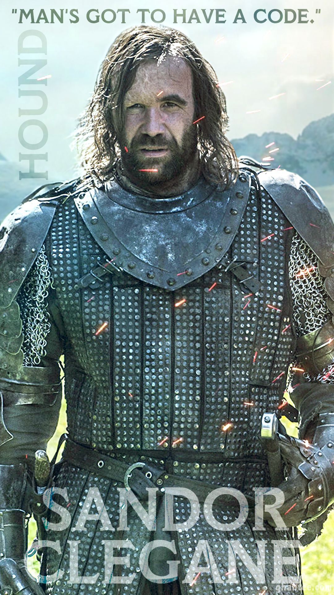 The Hound Got Quotes Wallpaper Sandor Clegane Wallpaper Quotes