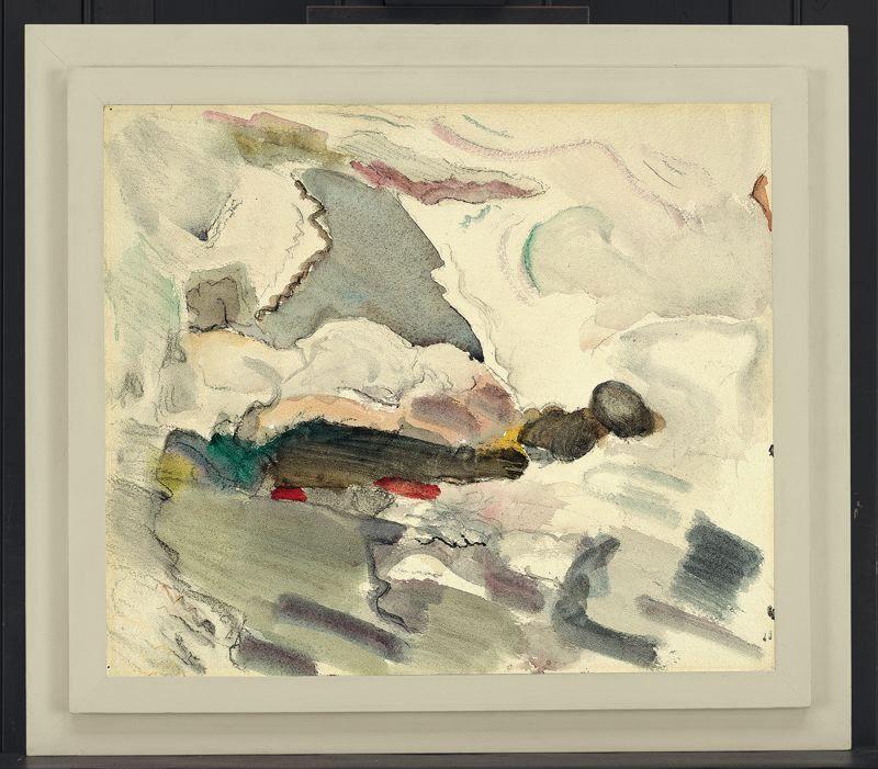 John marin american 18701953 ocean and rocks art