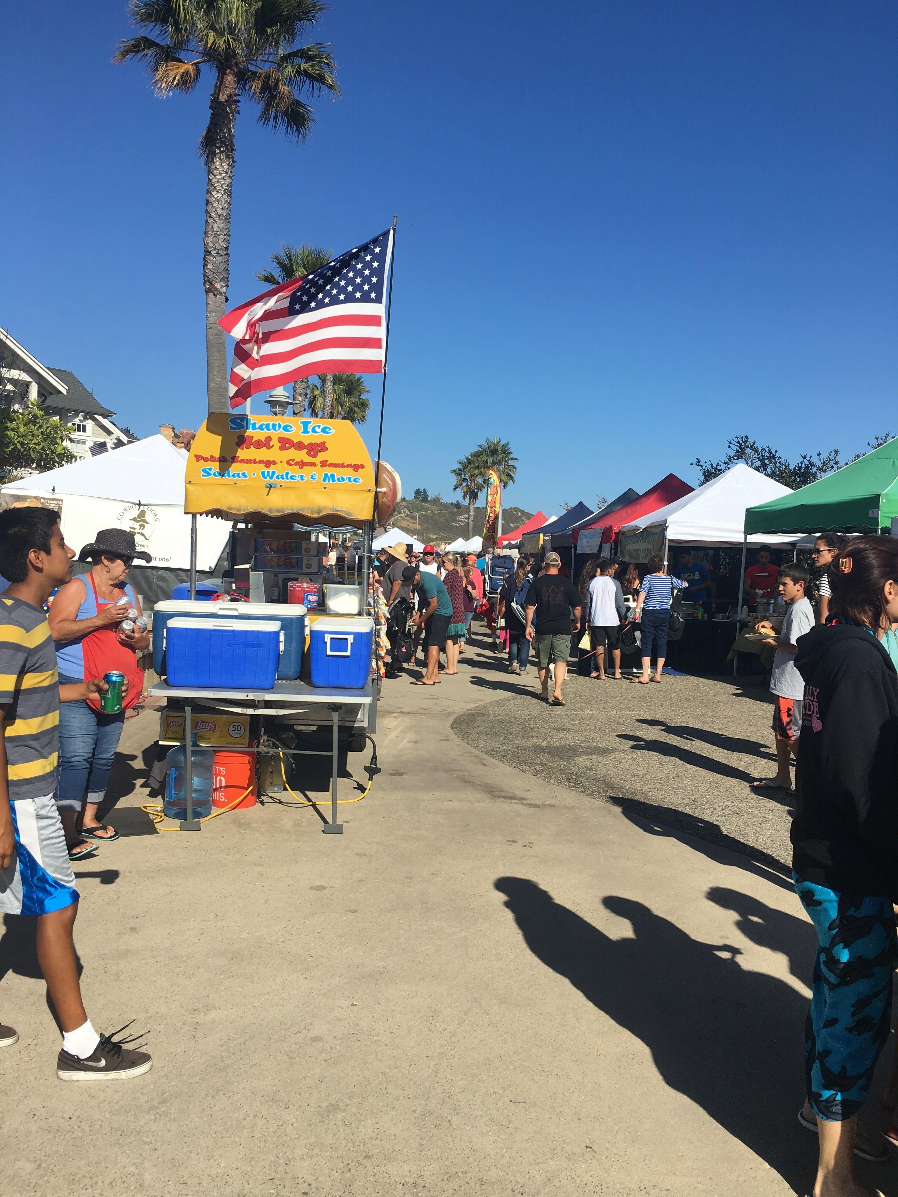 Avila Beach Farmers Market Village Inn Central Coast California Vacation Getaway Weekend San Luis Obispo