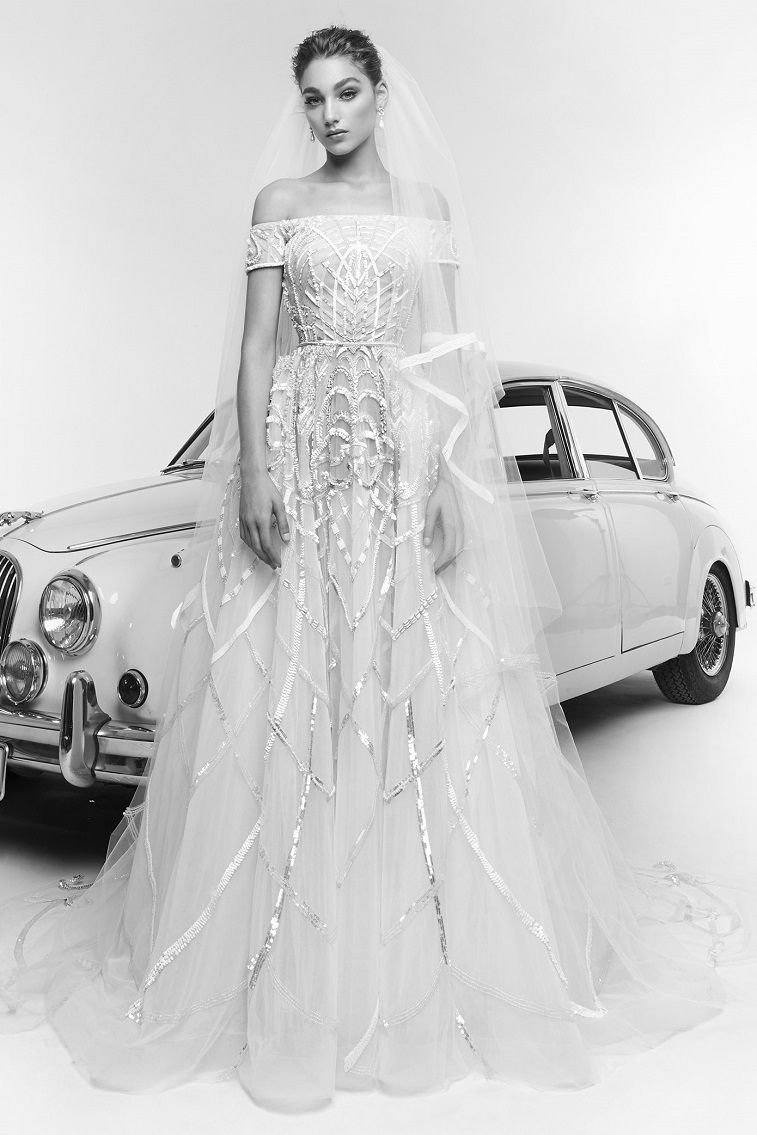 57 Stunning Wedding Dresses With Detachable Skirts