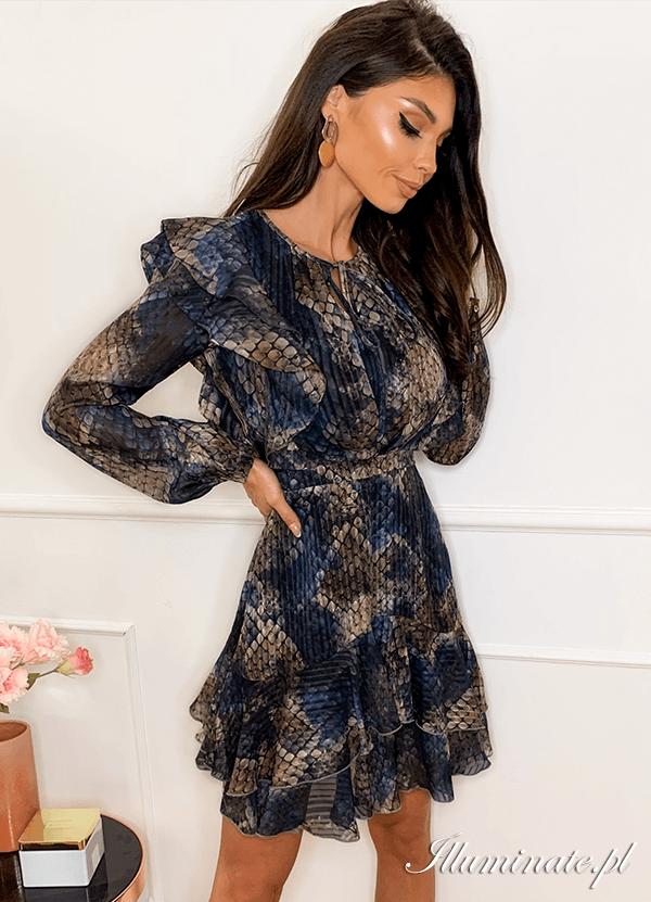 Elif Casualowa Sukienka Na Kazda Okazje Dresses Fashion Long Sleeve Dress