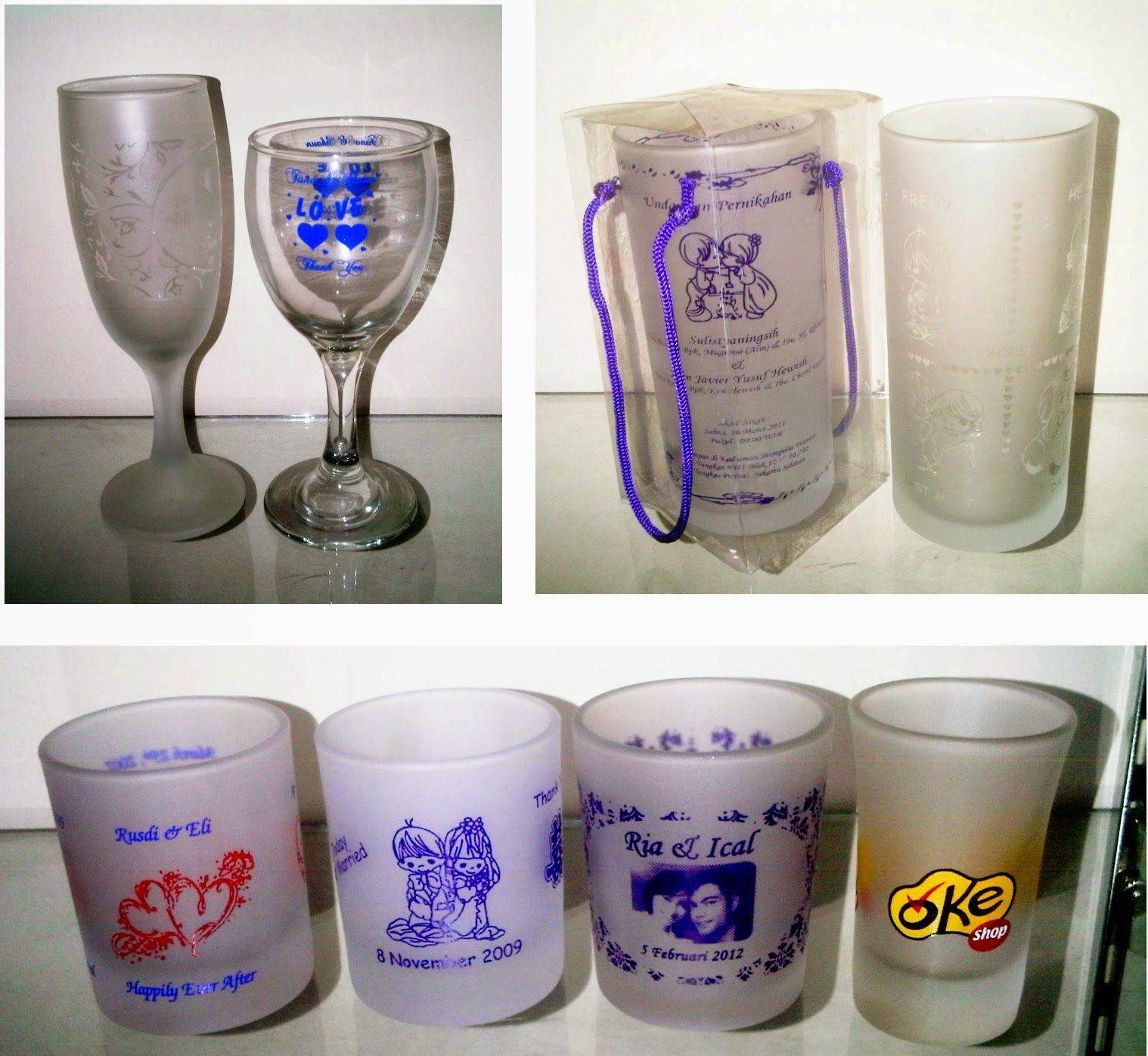 Souvenir Gelas Anda Sedang Mencari Souvenir Yang Aneh Unik Dan