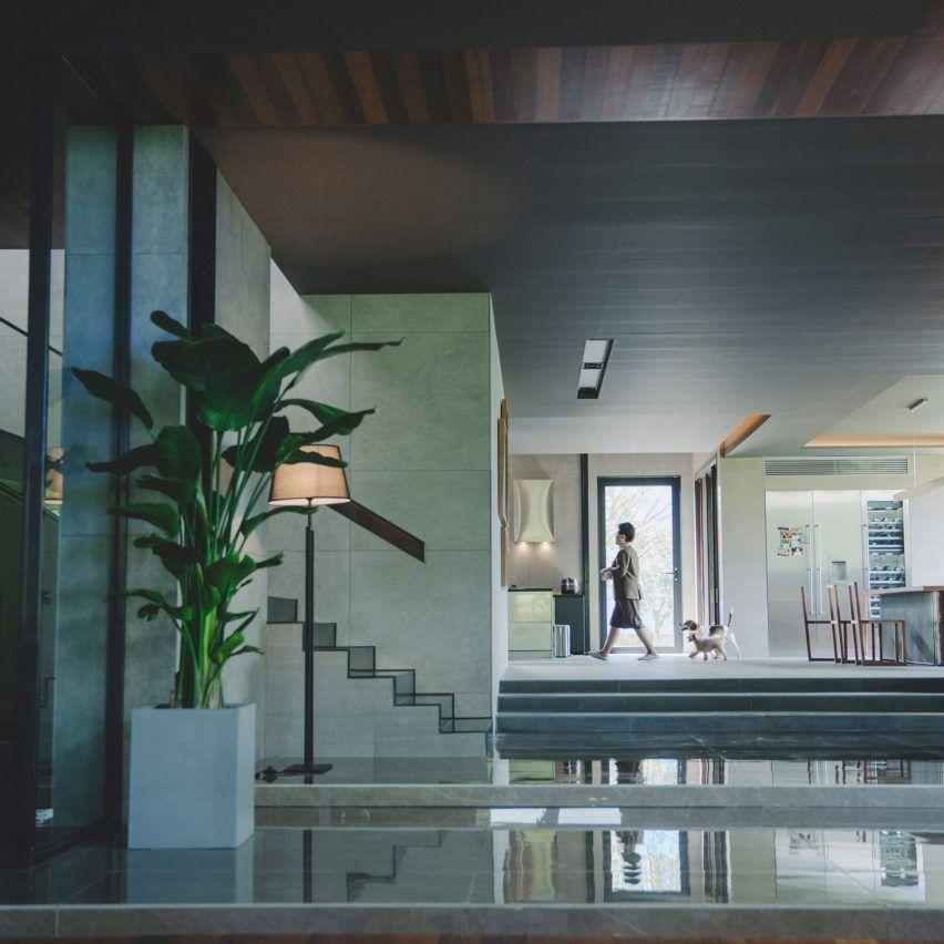 Parasite House Designed From Simple Floor Plan Sketched Bybong Joon Ho Simple Floor Plans House Design Design