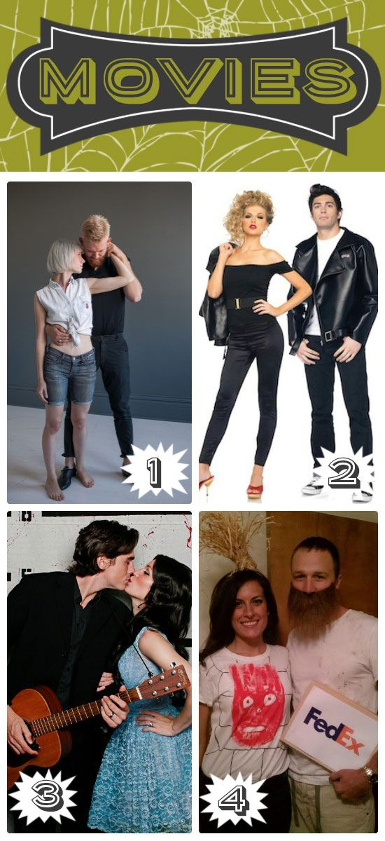 Simple Halloween Costumes for Couples Diy couples