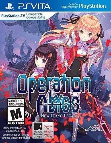 Operation Abyss New Tokyo Legacy Playstation Vita Ps Vita