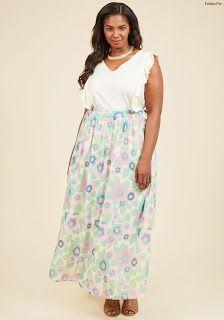 precio especial para super servicio moda de lujo 56 Faldas Largas ¡Inspiración e Ideas Originales! | Faldas ...