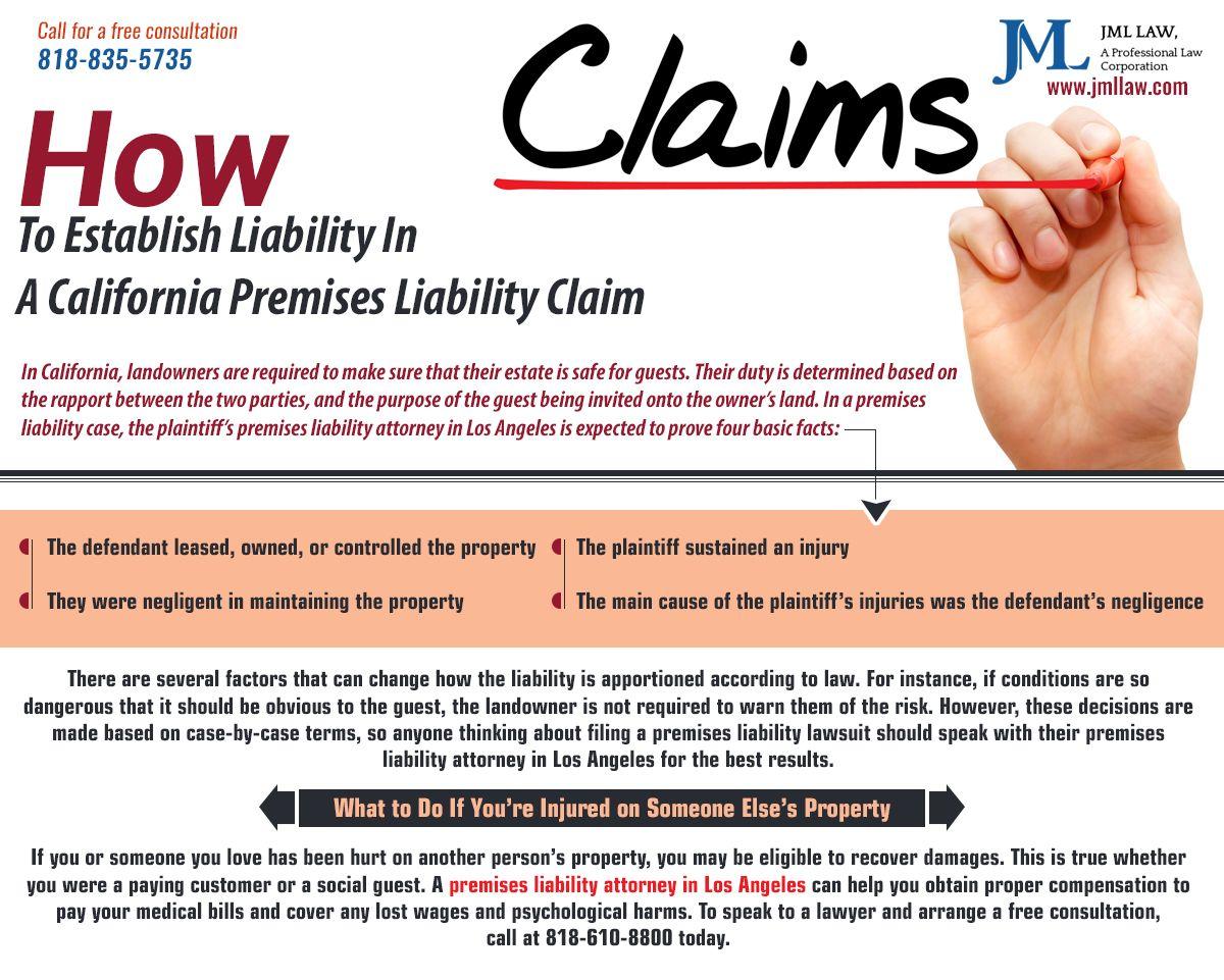 Los angeles premises liability attorney general