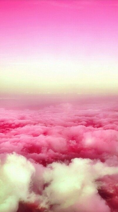 Pink and white skies