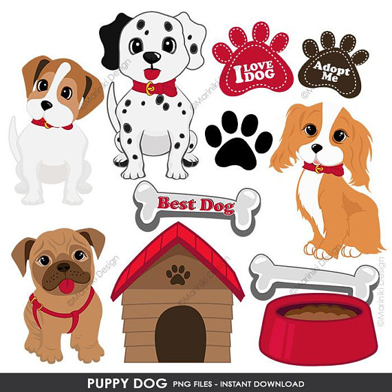 Puppy Dog Clipart Puppy Clip Art Cute Dogs Clipart For Scrapbook