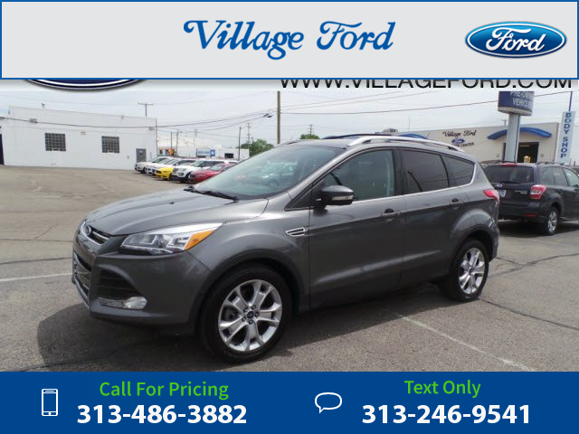 2014 ford escape titanium 24k miles gray call for price 24758 miles rh pinterest co uk