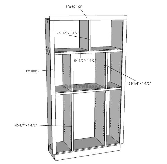 How To Build A Pantry Cabinet With, Diy Kitchen Pantry Cabinet Plans