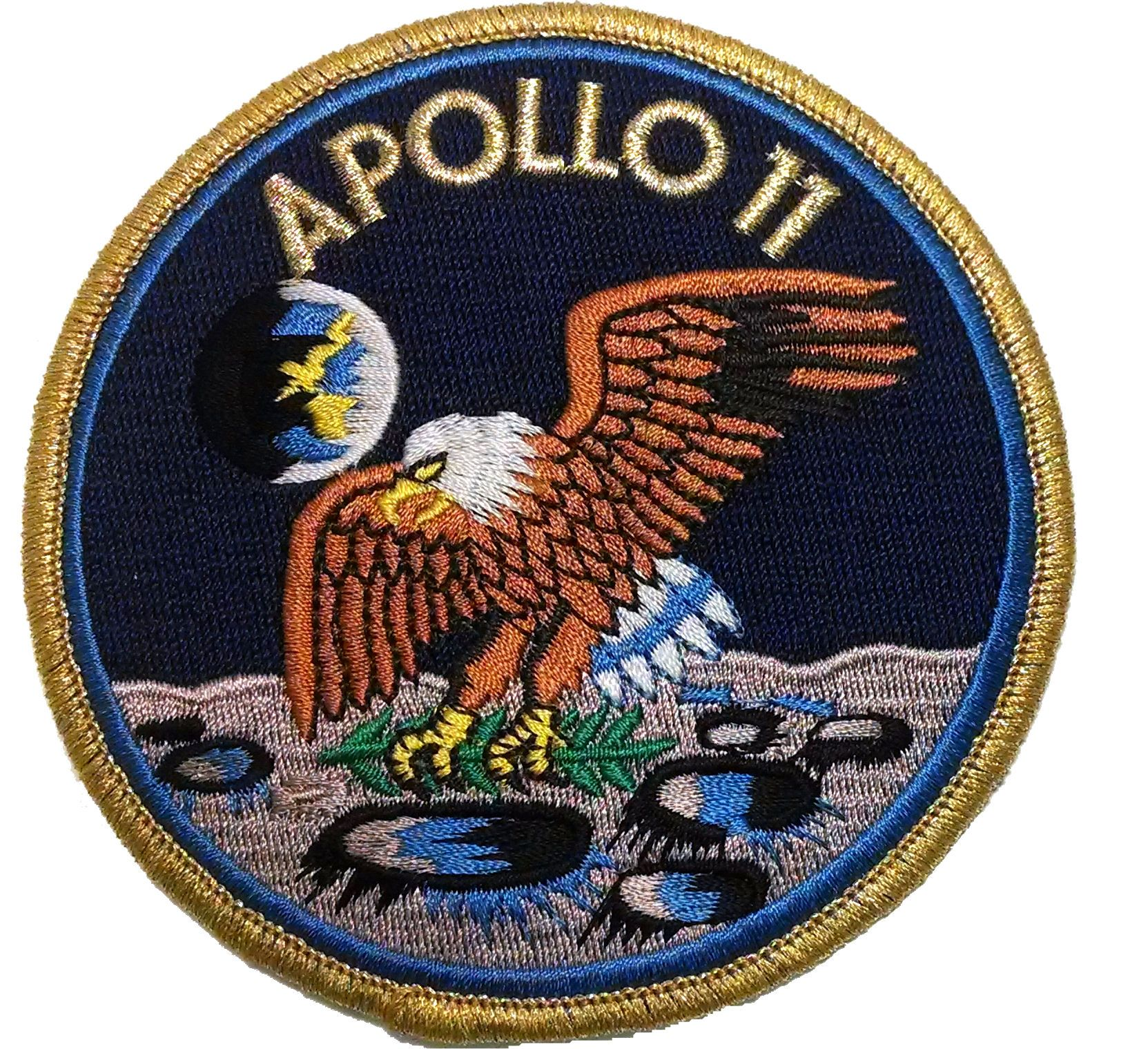 Apollo 11 NASA Patch - Pics about space | Patches ...