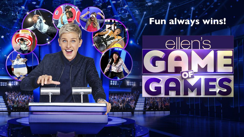 Ellen S Game Of Games Tv Show On Nbc Ratings Cancel Or Season 3 Tv Show Games The Ellen Show Nbc