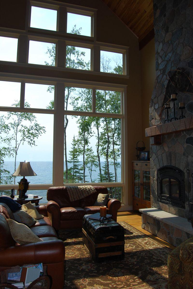 Stunning View - Plan 072D-1127   houseplansandmore.com   Lake ...
