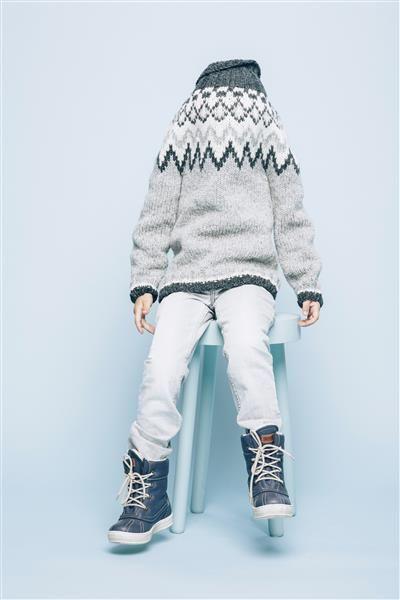 """Photo of Tema 38: Modell 14 """"Polarstjerne"""" genser #norsk #klassiker #strikk #knit"""