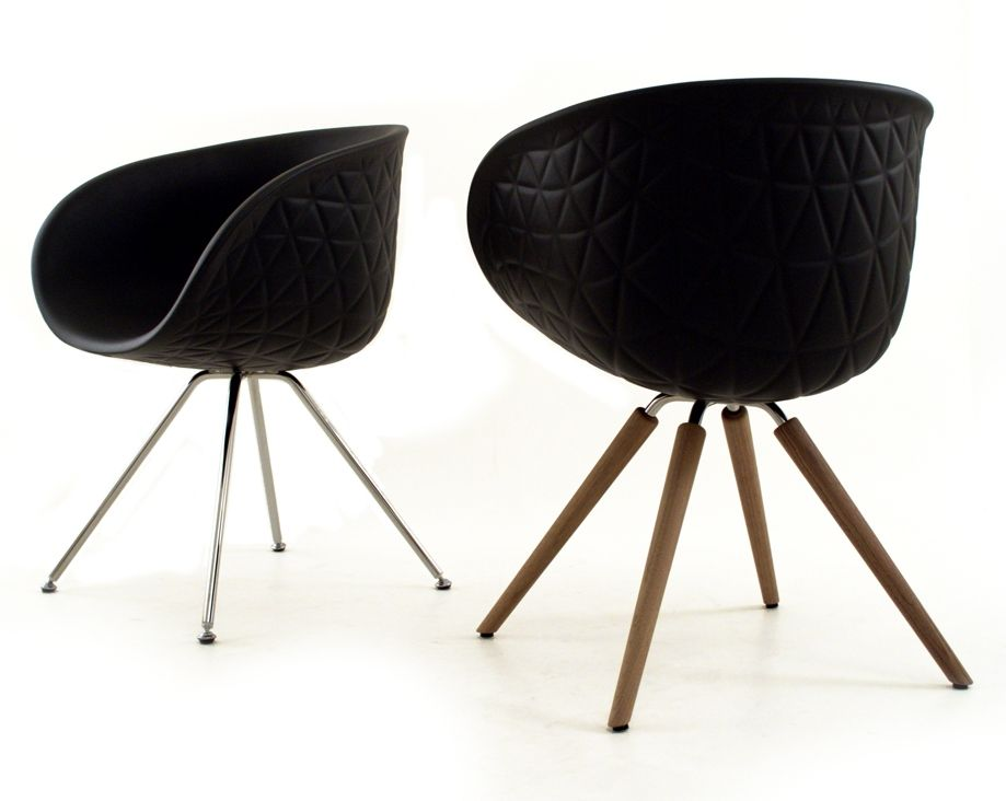 INTEGRAL POLYURETHANE FOAM CHAIR WITH ARMRESTS STRUCTURE WOOD BY TONON |  DESIGN MAC STOPA