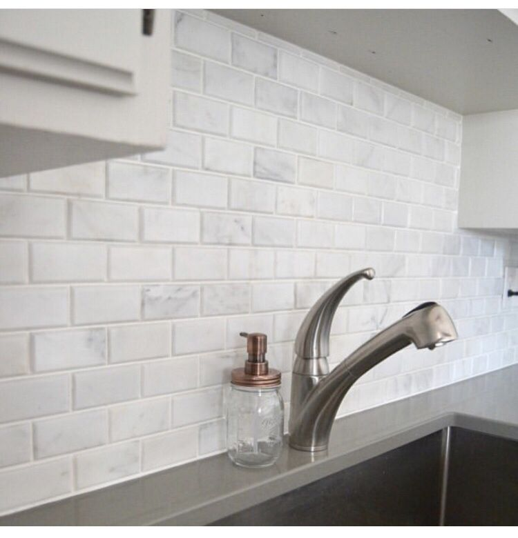 2x4 Carrara Venato Subway Tiles Create A Clean And Classic Look
