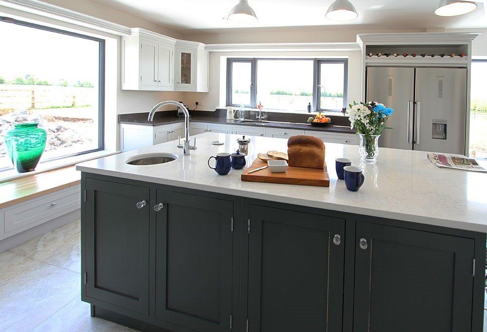 Best Seamus Reidy Furniture Cornforth White Kitchen Cabinets 400 x 300