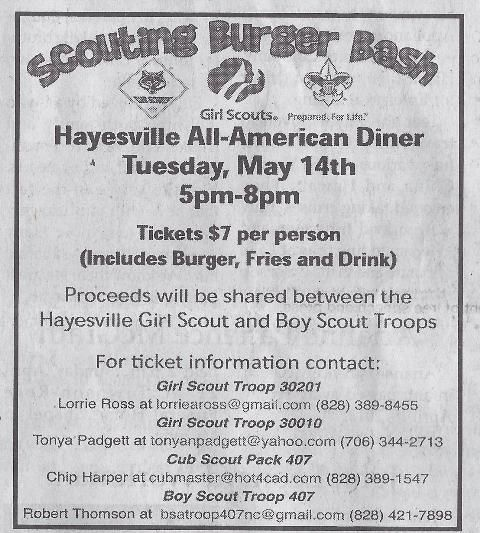 Fundraiser Idea: Burger Bash. This would be a cool