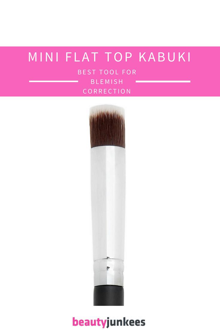 Mini Flat Top Kabuki Brush for Blemish Correction