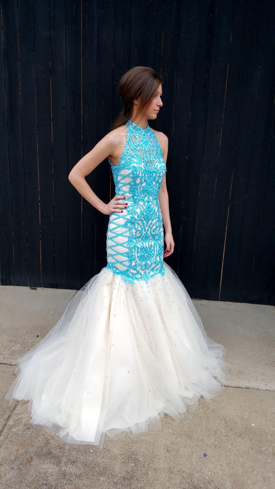 High Neck Low Back Prom Dress | Shop Bridal Cottage | prom ...