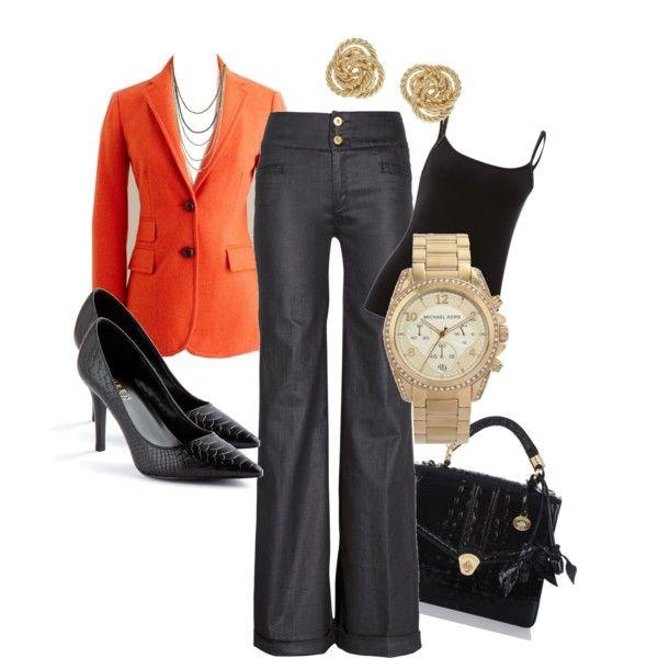 Zapatos naranjas formales Caspar Fashion para mujer BSnakc