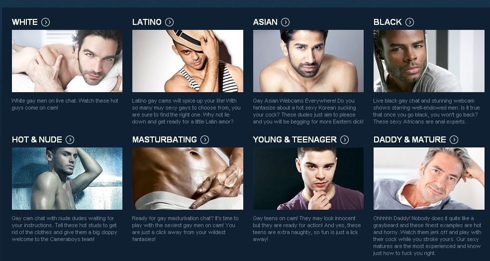 The world of live gay webcam sites is frought with scams and pitfalls for  gay men. We researched all the top gay webcam sites and offer consumers  detailed ...