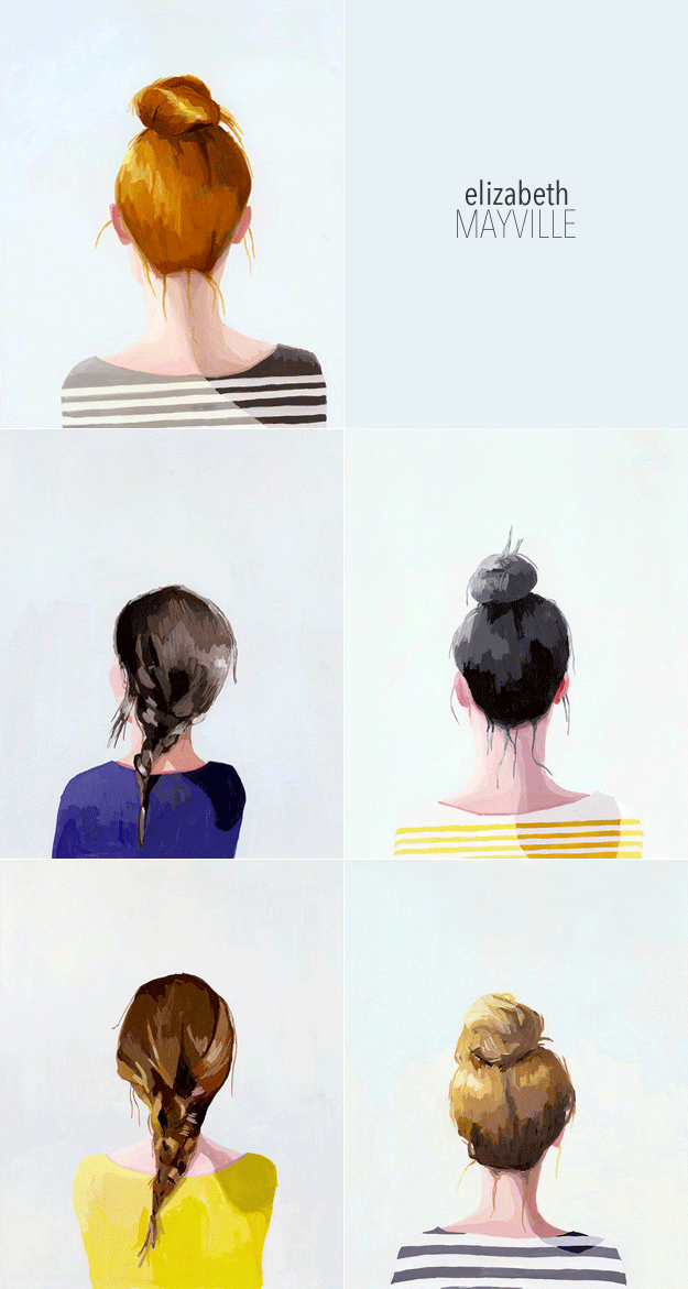 elizabeth mayville top knot series