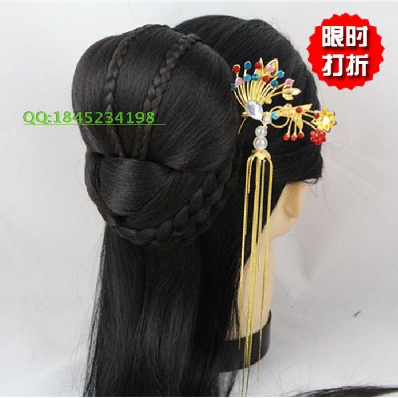 特价古装假发包 中式演出发包 复古造型假发包 后脑勺假发包-淘宝网