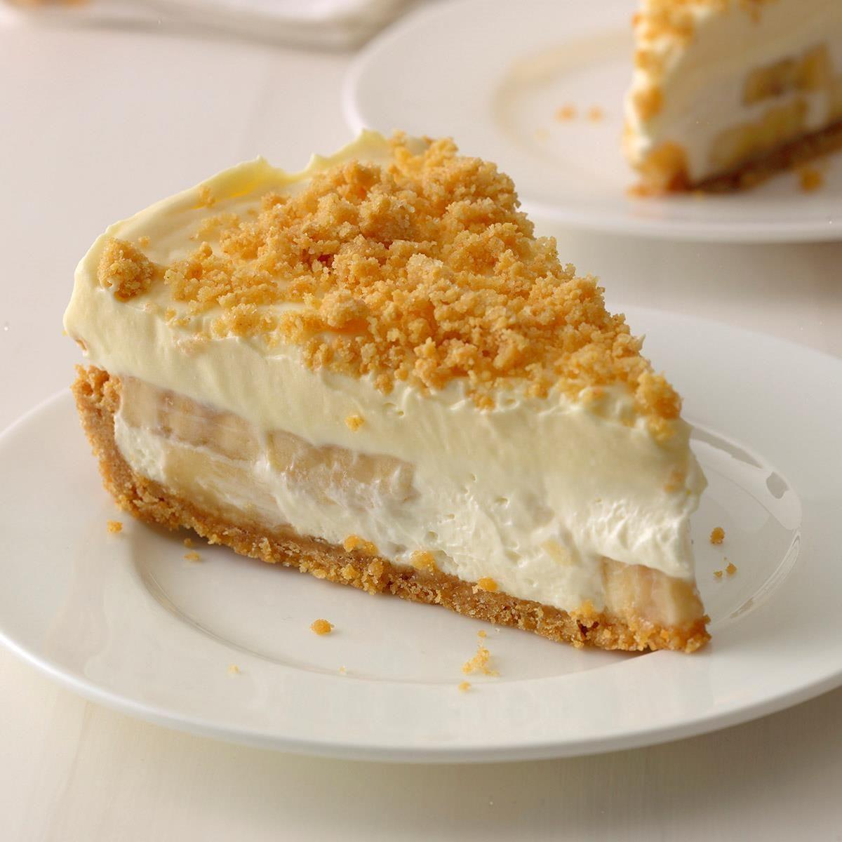 Banana cream cheesecake recipe desserts banana cream