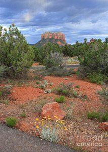 """So Long Sedona"" by Carol Groenen  Saying good-bye to Sedona, Arizona is hard to do.    #sedona #arizona #arizonalandscape #sedonaartwork #carolgroenen #sedonalandscapes  http://carol-groenen.pixels.com"