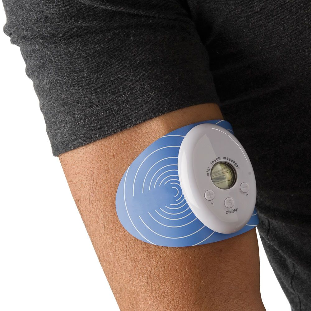 The Cordless Electrotherapy Pain Reliever - Hammacher Schlemmer This looks like something my husband and daughter could use.