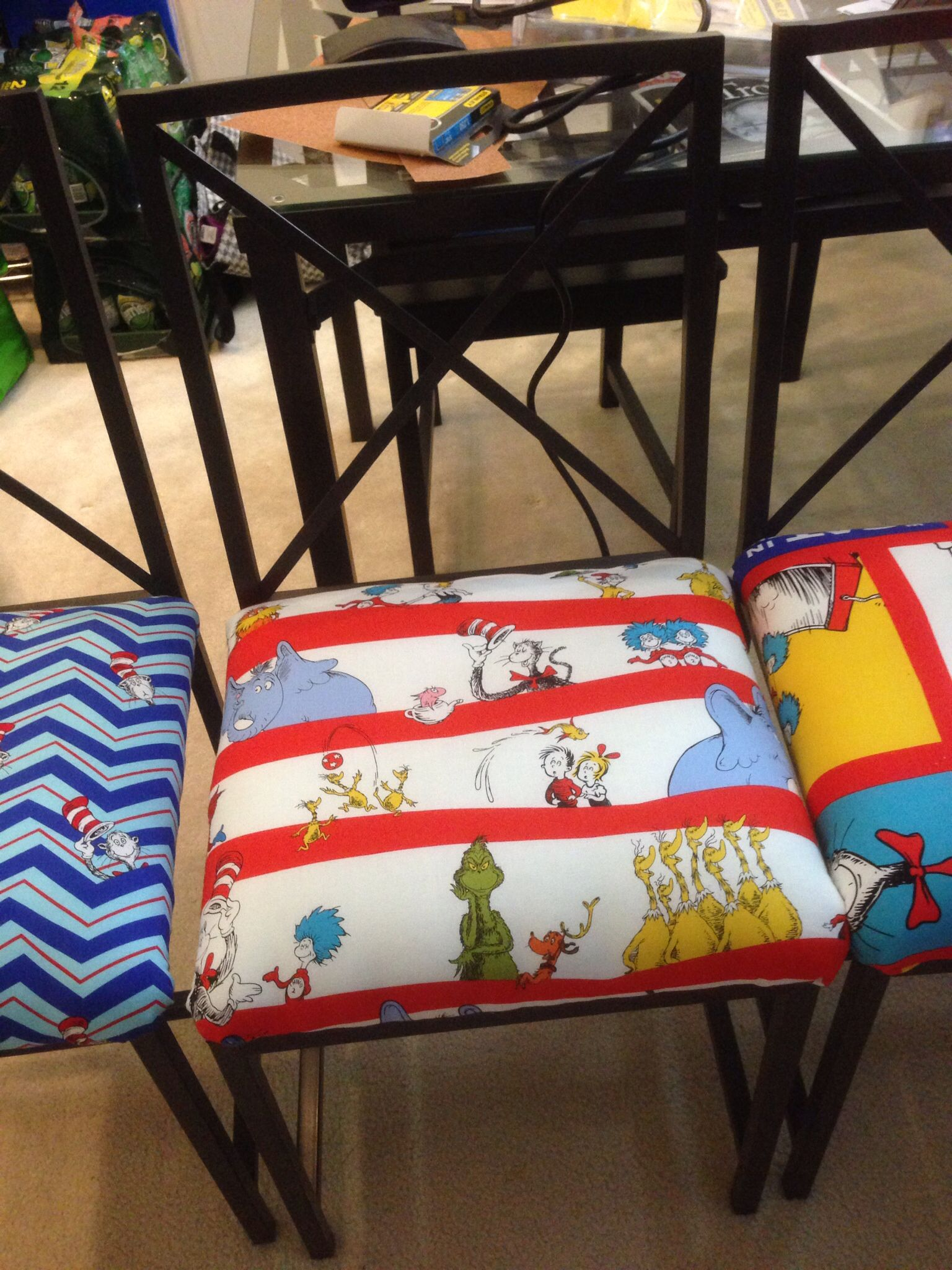 Admirable Dr Seuss Dining Chairs Using Ikea Granas Chairs Lauries Beutiful Home Inspiration Aditmahrainfo