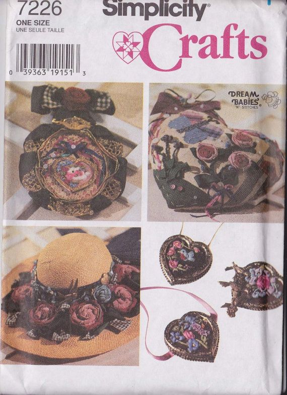 Simplicity Crafts 7226 Rag Roses and Ribbonry by ScarletBubbles