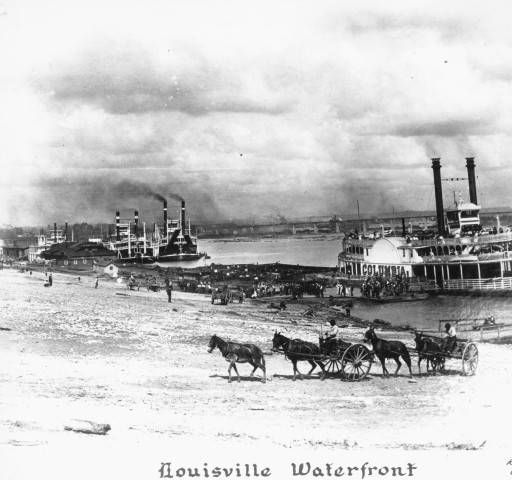 From my 1840s riverboat zombie killing nightmare, May 5, 2013... Louisville waterfront. :: R. G. Potter Collection