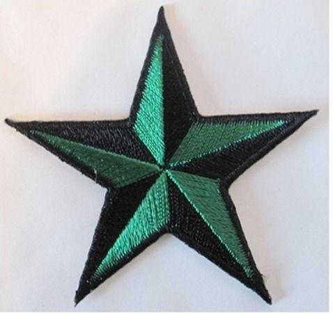 Patch écusson armée army militaire galon étoile blanc noir Neuf