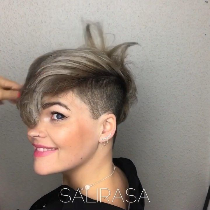 Have You Seen My New Haircut And Color Here Is A Pixie 360 Video