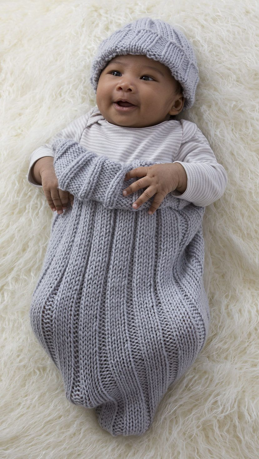 Knitting Designs For Baby Boy : Baby cocoon snuggly sleep sack wrap knitting patterns
