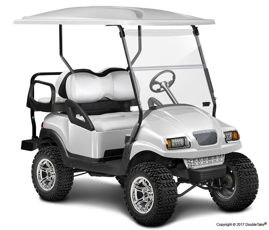 DoubleTake Golf Car - Color Theme Cars - Pearl | Golf Carts ... on golf cart graphics, golf cart flame paint, golf cart paint colors,