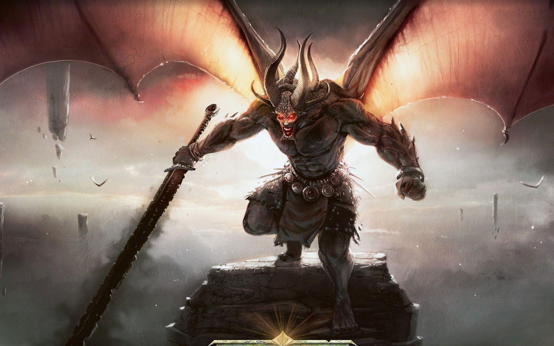 Demon Warrior | Demon Warrior | Demons of Hell and Beyond ...